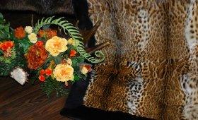 Плед из натурального меха - дорогой подарок