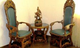 резная мебель - ручная работа