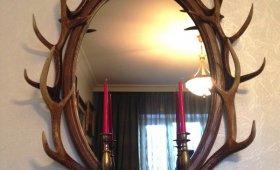 Зеркало с рогами