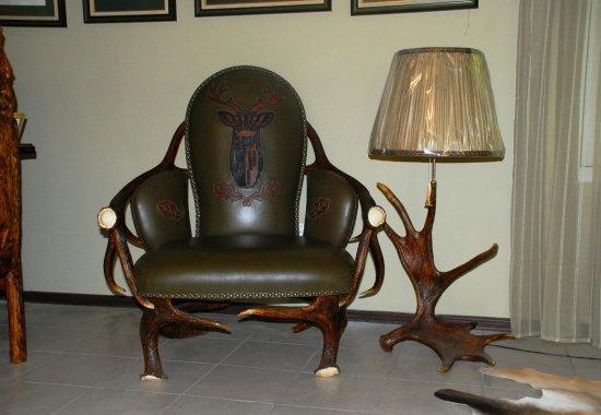 охотничья мебель - кресло Олень